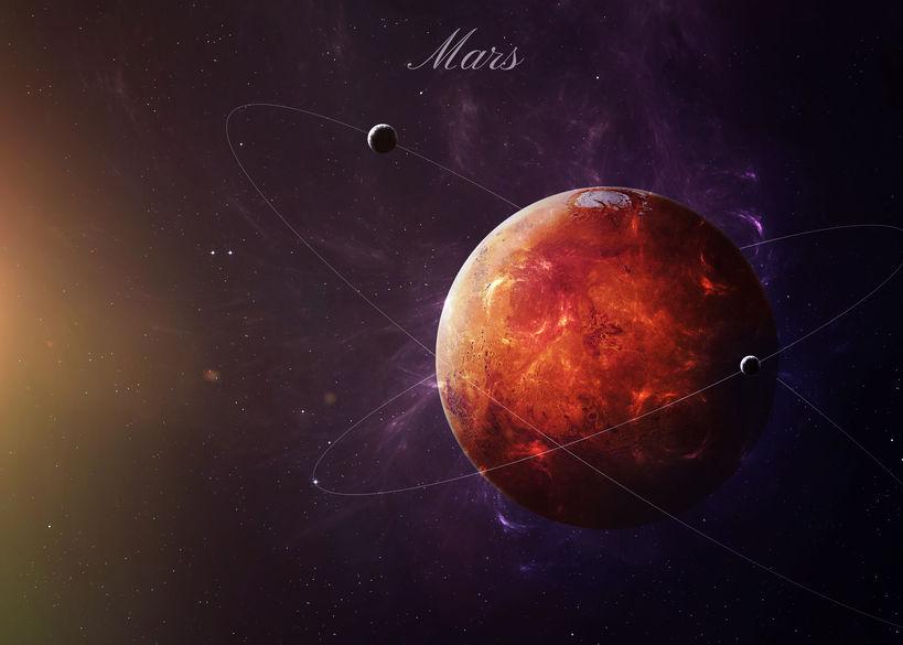 Rückläufiger Mars